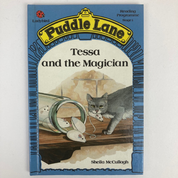Ladybird Book PUDDLE LANE Tessa and the Magician - First 1st Edition - Stage 1